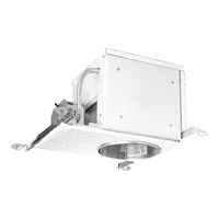 Recessed Lighting Recessed Firebox Housing in Standard, 6-inch, Non-IC, Incandescent