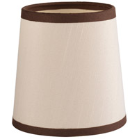Progress P860000-001 Allaire Champagne Silk with Espresso Trim Shade Design Series