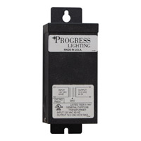 Progress Lighting Hide-a-Lite Transformer Undercabinet Component in Black P8604-31