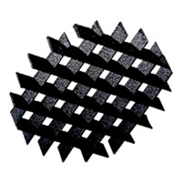Progress Lighting Cube Cell Louver Landscape in Black P8613-31