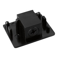 Progress Lighting Dead End Track Component in Black P8717-31