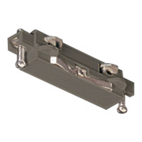 Progress Lighting Straight Connector Track Component in Brushed Nickel P8720-09