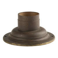 Progress P8726-46 Pedestal Mount 3 inch Weathered Bronze Pedestal Mounting photo thumbnail