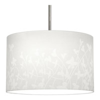 Chloe 16 inch Floral Fabric Pendant Ceiling Light