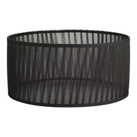 Signature Black Fabric Shade