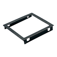 Progress Lighting Top Cover Lenses For P5644 Square Outdoor Accessory in Black P8797-31