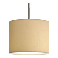 Progress Lighting Markor Pendant System Shade only in Beige Silken Fabric P8821-01