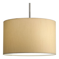 Progress Lighting Markor Pendant System Shade only in Beige Silken Fabric P8823-01