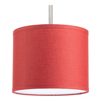 Progress Lighting Markor Drum Shade in Crimson P8828-39