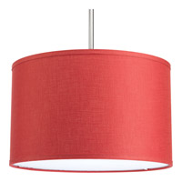 Progress Lighting Markor Drum Shade in Crimson P8829-39