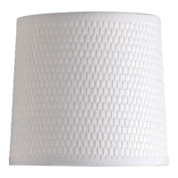Identity Off White Fabric Shade