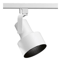 Progress Lighting Flair 1 Light Track Head in Bright White P9201-28