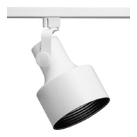 Progress Lighting Flair 1 Light Track Head in Bright White P9202-28