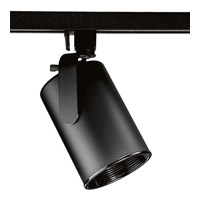 Progress Lighting Flatback 1 Light Track Head in Black P9205-31