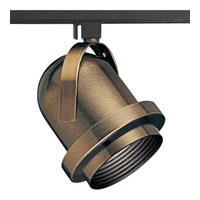 Progress Lighting Carillon 1 Light Track Head in Antique Brass P9209-11