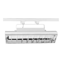 Progress Lighting Wall Washer 2 Light Track Head in Bright White P9212-28