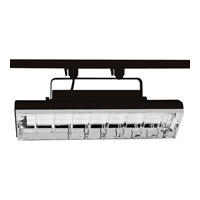 Progress Lighting Wall Washer 2 Light Track Head in Black P9212-31