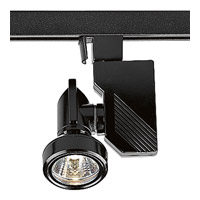 Progress Lighting Miniature Halogen 1 Light Track Head in Black P9218-31