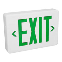 Progress Lighting Exit Sign Wall Mount in White PE002-30