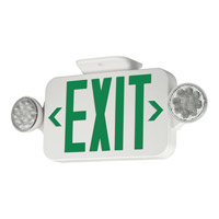 Progress LED Exit Sign in White PE011-30