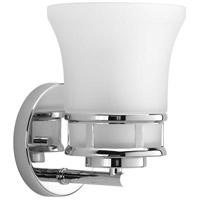 Progress P2146-15 Cascadia 1 Light 6 inch Polished Chrome Bath Vanity Wall Light