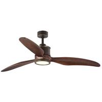 Progress P250002-108-30 Farris 60 inch Oil Rubbed Bronze with Walnut Blades Ceiling Fan