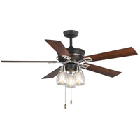Graphited Weathered Wood Indoor Ceiling Fans