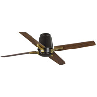 Progress P250028-129 Lindale 52 inch Architectural Bronze with Distressed Walnut Blades Ceiling Fan