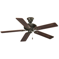 Progress P2521-77 AirPro 52 inch Forged Bronze with Classic Walnut/Medium Cherry Blades Ceiling Fan in Medium Cherry/Classic Walnut