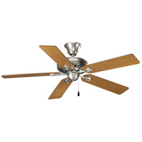 Progress P2521-81 AirPro 52 inch Antique Nickel with Medium Oak/Cherry Blades Ceiling Fan