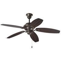 Progress P2533-20 AirPro Outdoor 54 inch Antique Bronze with Toasted Oak Blades Indoor/Outdoor Ceiling Fan