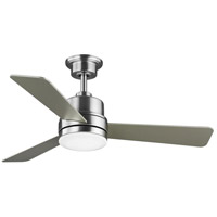 Progress P2555-0930K Trevina II 44 inch Brushed Nickel with Silver Blades Ceiling Fan Progress LED