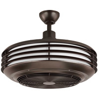 Sanford 24 inch Architectural Bronze Outdoor Ceiling Fandelier