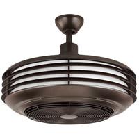 Progress P2594-12930K Sanford 24 inch Architectural Bronze Indoor/Outdoor Ceiling Fandelier Progress LED