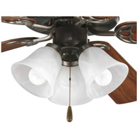 Progress P2600-20WB AirPro LED Antique Bronze Fan Light Kit photo thumbnail