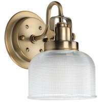 Progress P2989-163 Archie 1 Light 6 inch Vintage Brass Bath Vanity Wall Light
