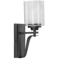 Progress P300120-143 Kene 1 Light 5 inch Graphite Wall Bracket Wall Light