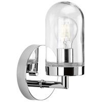 Progress P300174-015 Signal 1 Light 5 inch Polished Chrome Bath Vanity Wall Light