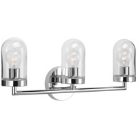 Progress P300176-015 Signal 3 Light 23 inch Polished Chrome Bath Vanity Wall Light