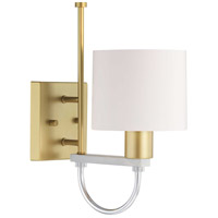 Progress P300201-078 Rigsby 1 Light Vintage Gold Wall Bracket Wall Light Design Series