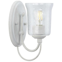 Cottage White Bowman Bathroom Vanity Lights