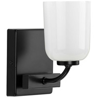 Progress P300280-031 Moore 1 Light 5 inch Matte Black Bath Vanity Wall Light