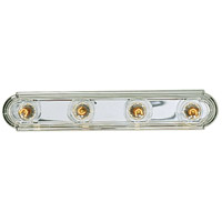 Polished Chrome Broadway Bathroom Vanity Lights
