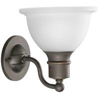 Progress P3161-20 Madison 1 Light 8 inch Antique Bronze Bath Vanity Wall Light