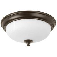 Progress P350003-020-30 LED Alabaster LED 15 inch Antique Bronze Flush Mount Ceiling Light, Progress LED