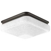 Progress P350023-020-30 LED Square LED 10 inch Antique Bronze Flush Mount Ceiling Light, Progress LED