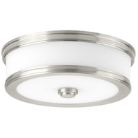 Progress P350085-009-30 Bezel LED LED 11 inch Brushed Nickel Flush Mount Ceiling Light, Progress LED photo thumbnail