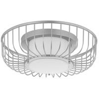 Progress P350089-121-30 Finesse LED 15 inch Metallic Siver Flush Mount Ceiling Light