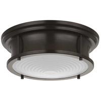 Progress P350113-108-30 Fresnel Lens LED 13 inch Oil Rubbed Bronze Flush Mount Ceiling Light