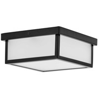 Progress P350114-031-30 Box LED LED 10 inch Black Flush Mount Ceiling Light Progress LED